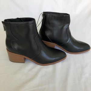 Forever 21 Black Booties Brand New